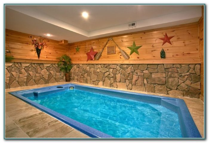 Gatlinburg Cabin With Private Indoor Pool Pools Home