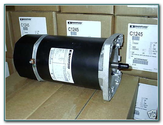 Ge 1 Hp Pool Pump Motor
