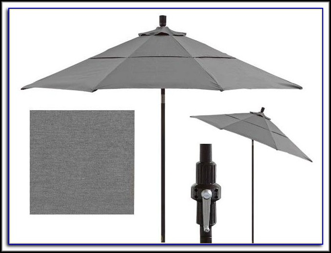 Grey Patio Umbrella Canada