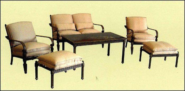 Hampton Bay Verrado Patio Set Replacement Cushions