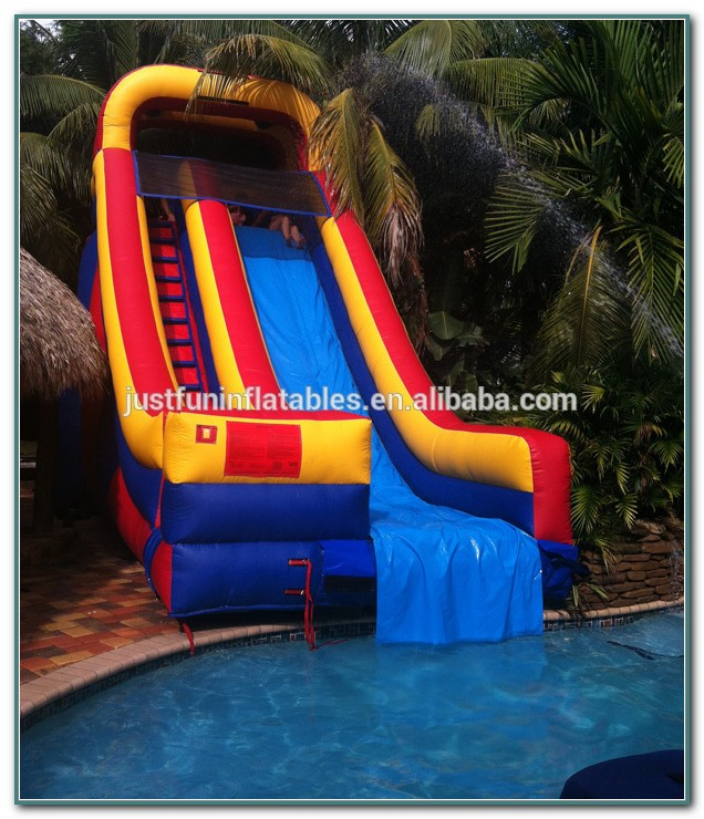 Inflatable Swimming Pool Slides For Inground Pools