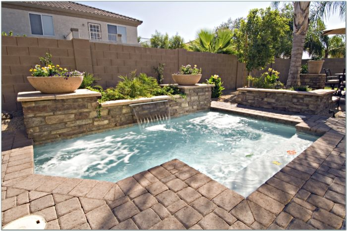 Inground Pool Designs Small Yards