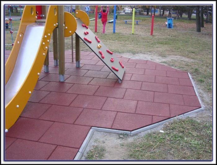 Interlocking Rubber Tiles For Patio