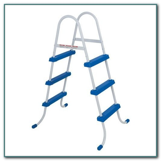 Intex 48 Inch Pool Ladder With Barrier