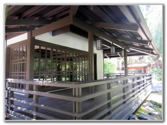Japanese Friendship Garden San Jose Tea House