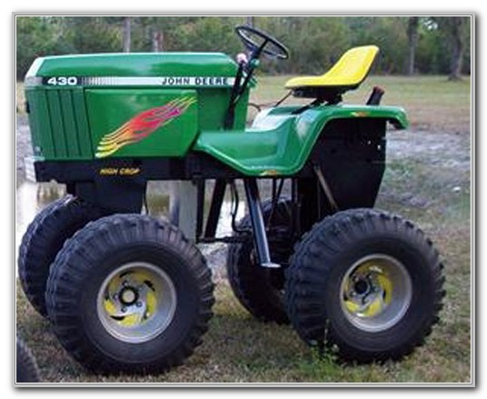 John Deere Garden Tractor Models