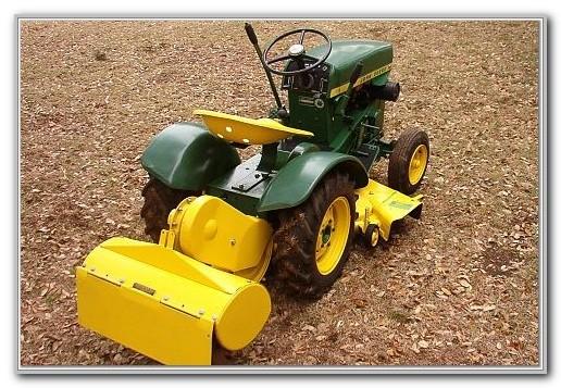 John Deere Garden Tractor Tiller