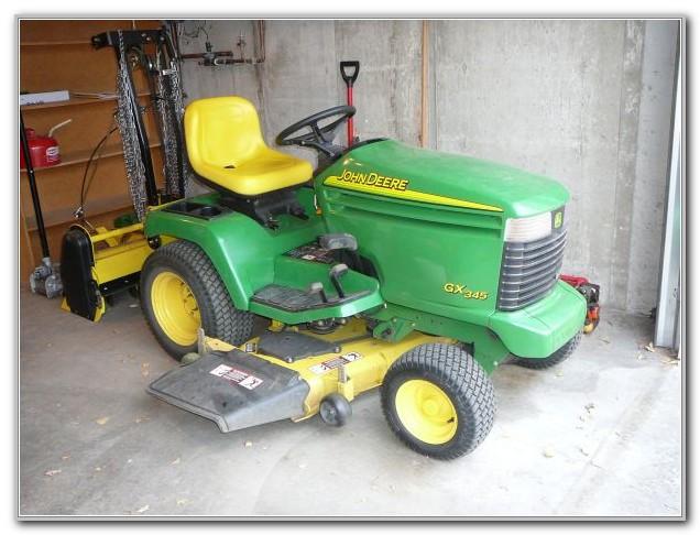 John Deere Garden Tractor Weights