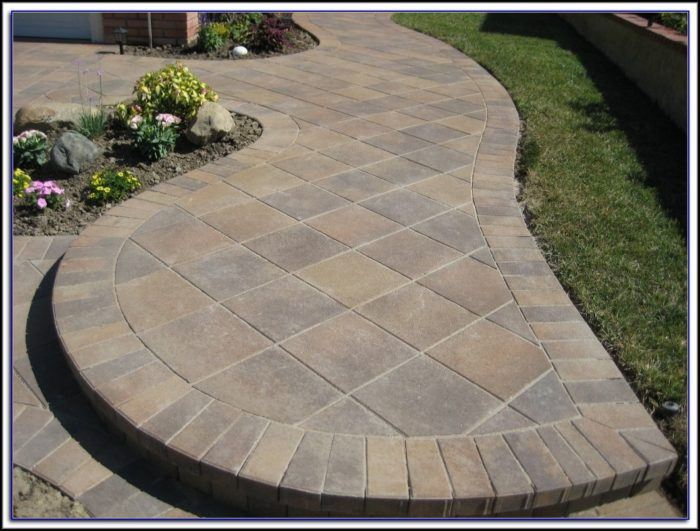 Laying Patio Pavers Instructions