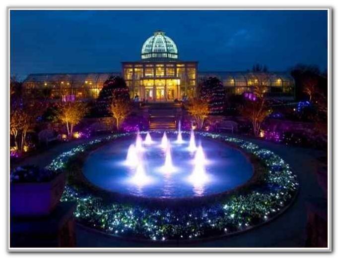 Lewis Ginter Botanical Gardens Christmas Lights