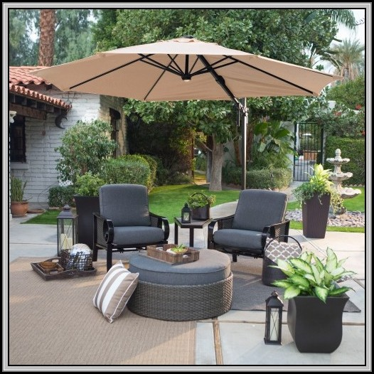 Lighted Patio Umbrella Battery