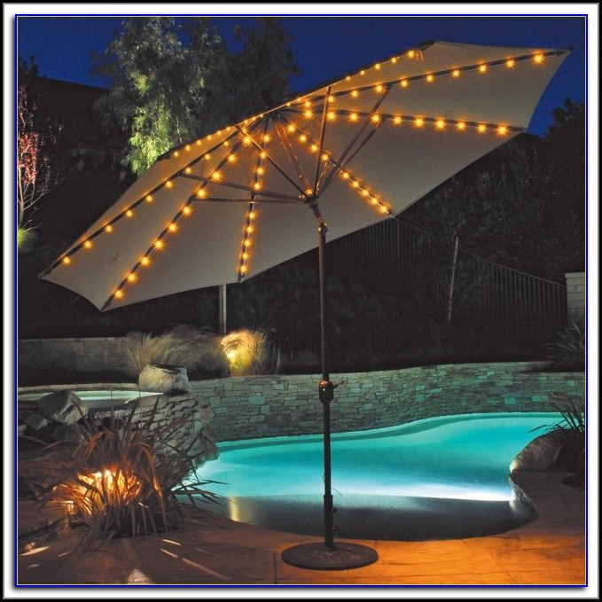 Lights For Patio Table Umbrella
