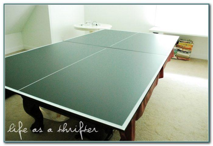 Make Ping Pong Table For Pool Table
