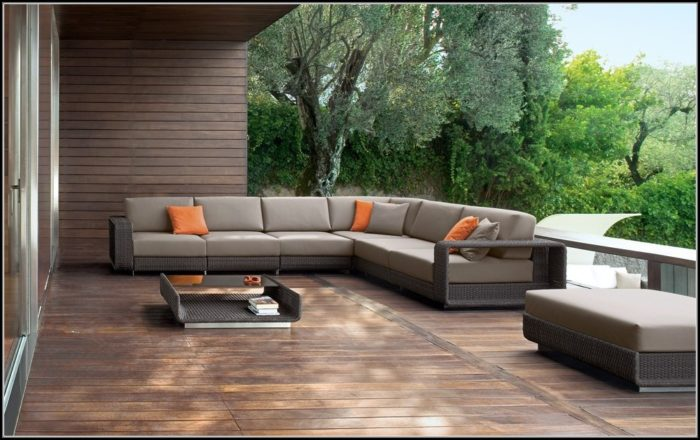 Modern Rattan Outdoor Furniture