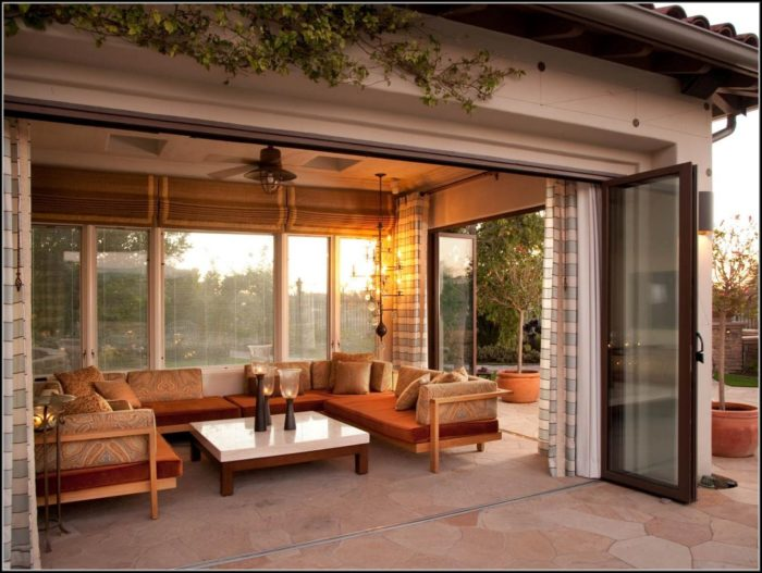 Outdoor Enclosed Patio Ideas
