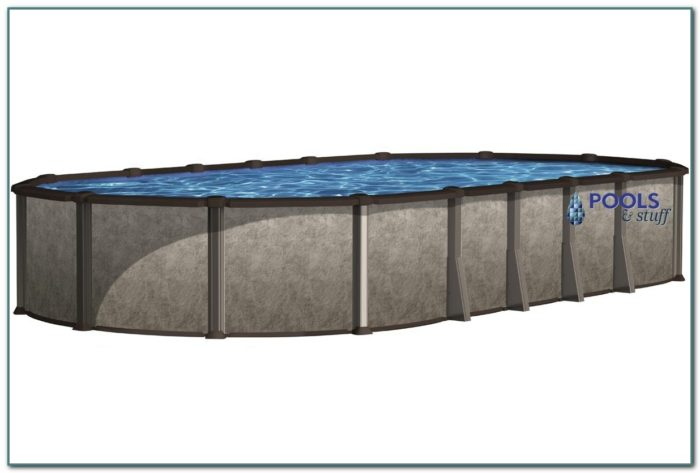 Oval Above Ground Pool Kits