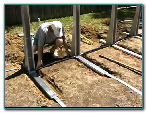Oval Above Ground Swimming Pool Installation