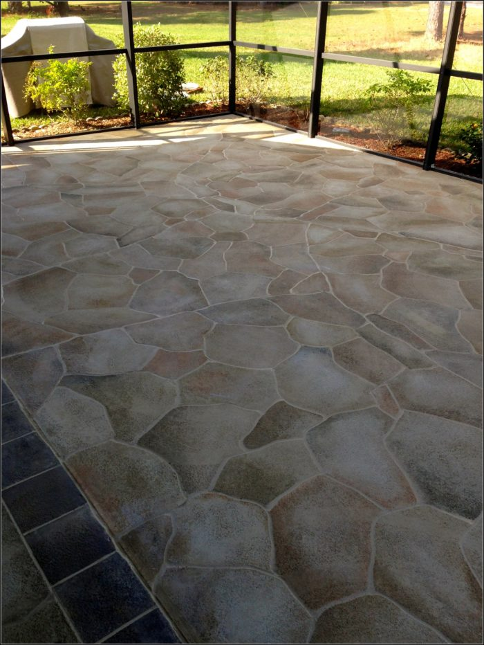 Painting Cement Patio Floors