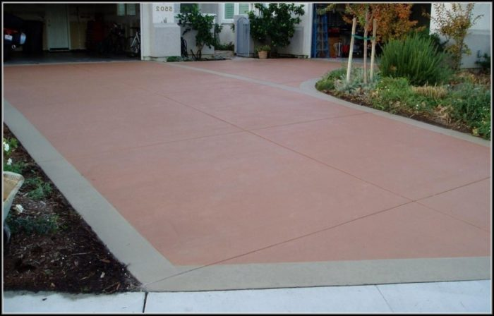 Painting Concrete Patio Ideas