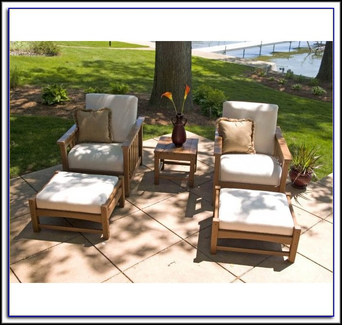 Patio Chair With Ottoman Canada