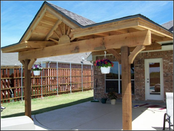 Patio Cover Ideas Plans