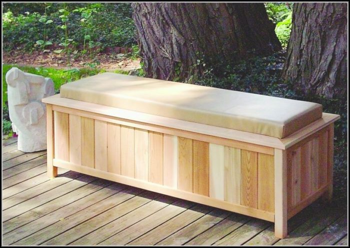 Patio Deck Box Plans
