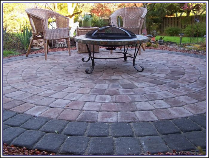 Patio Designs With Holland Pavers