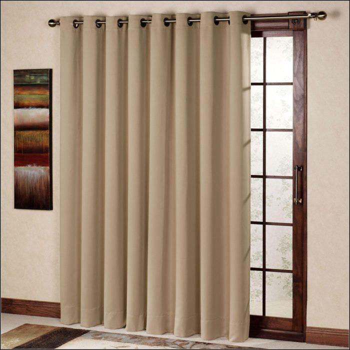 Patio Door Blackout Curtain Panel