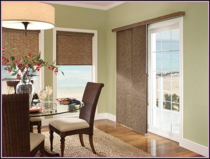 Patio Door Window Treatments Photos