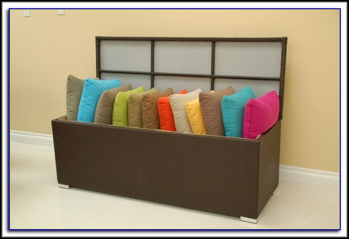 Patio Furniture Cushion Storage Rubbermaid