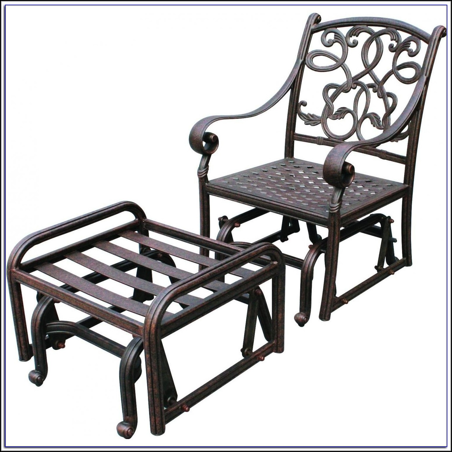 Patio Glider Chairs Metal