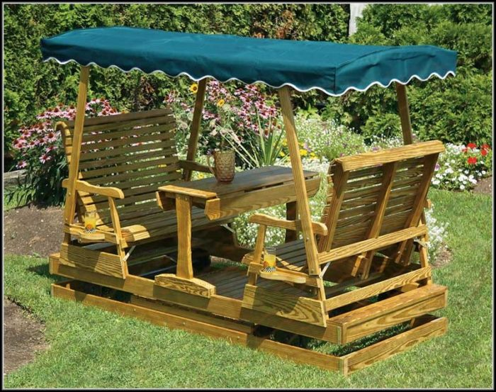 Patio Glider Swing Plans