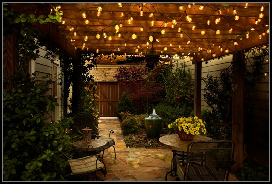 Patio Globe String Lights