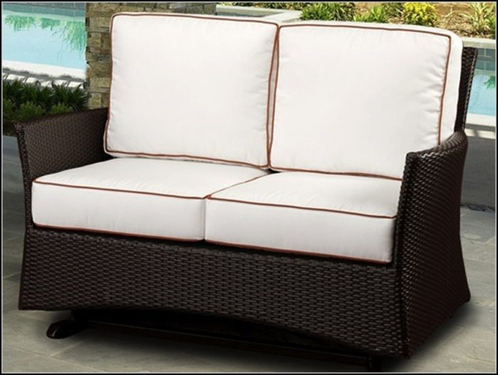 Patio Loveseat Glider Cushions