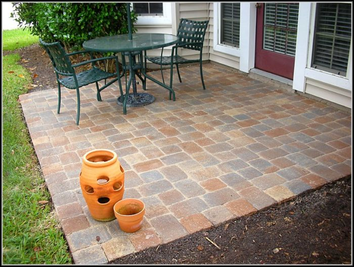 Patio Paver Ideas Cheap