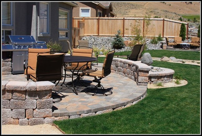 Patio Paver Ideas Landscaping