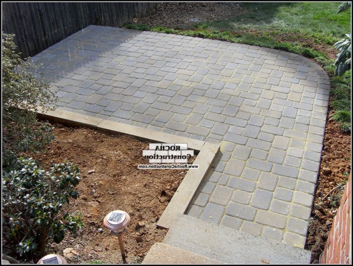 Patio Paver Stone Designs