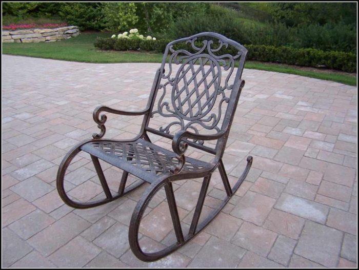 Patio Rocking Chairs Metal