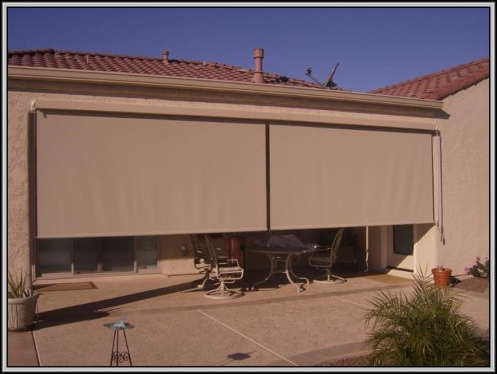 Patio Roll Up Sun Shades