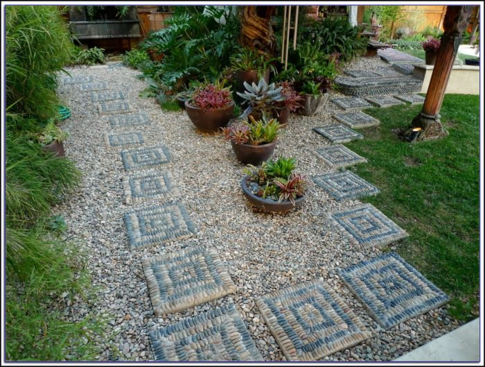 Patio Stepping Stone Molds