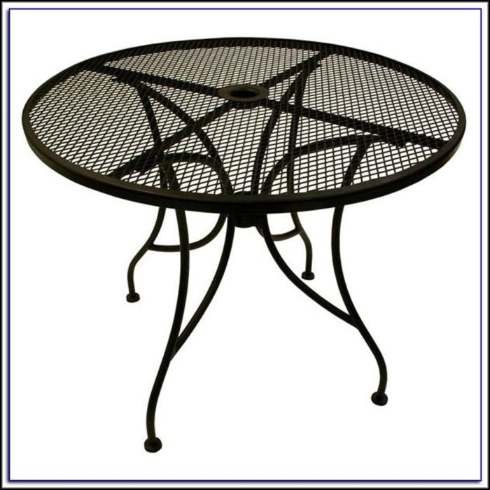 Patio Table Cover W Umbrella Hole