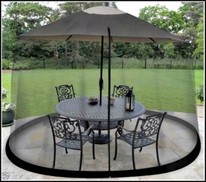 Patio Table Mosquito Net