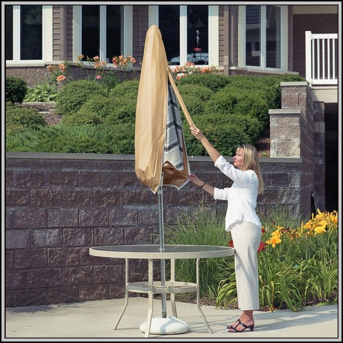 Patio Umbrella Covers With Wand