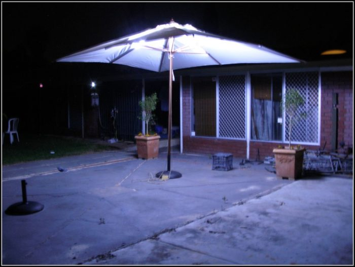 Patio Umbrella Lights Walmart