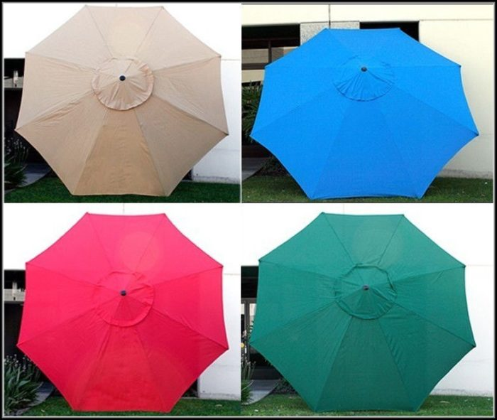 Patio Umbrella Replacement Canopy 11