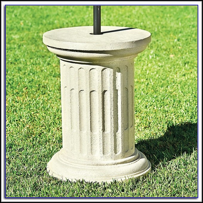 Patio Umbrella Stands And Bases