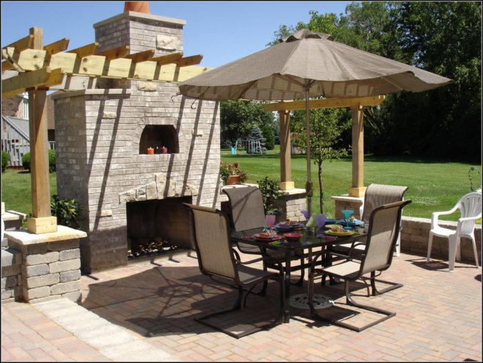 Patio Umbrella With Stand Walmart
