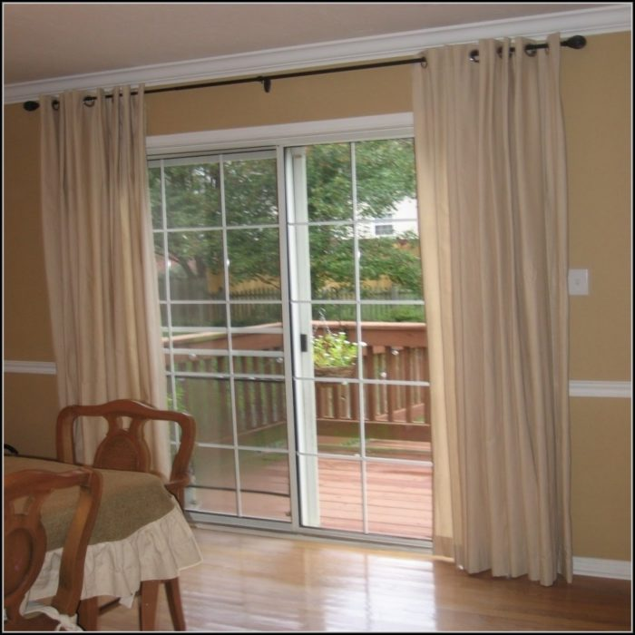 Patio Window Curtain Ideas