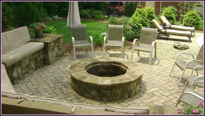 Patios With Fire Pits Pictures