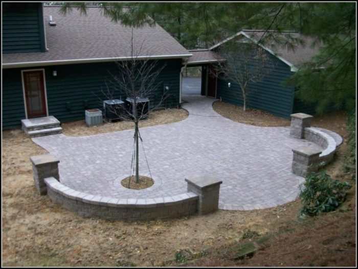 Paver Patio Designs Photos